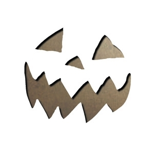 Tim Holtz Sizzix MINI SCARY JACK-O-LANTERN Dies Movers Shapers 657462
