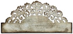 Tim Holtz Sizzix DISTRESSED DOILY On the Edge Die 657496 zoom image