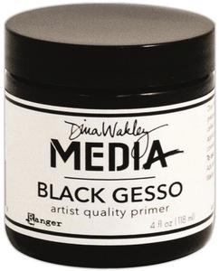 Dina Wakley Ranger BLACK GESSO Media MDM41719 Preview Image
