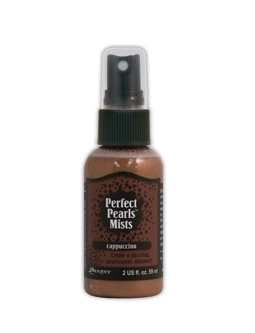 Ranger Perfect Pearls Mist CAPPUCCINO Glimmer Spray PPM31291*