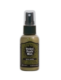 Ranger Perfect Pearls Mist GREEN PATINA Glimmer Spray PPM31314*