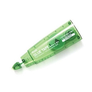 PLUS Glue Adhesive Tape TG-724R REFILL GREEN Thin Runner