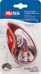 Scrapbook Adhesives PERMANENT RED My Stick Adhesive 01650 Preview Image