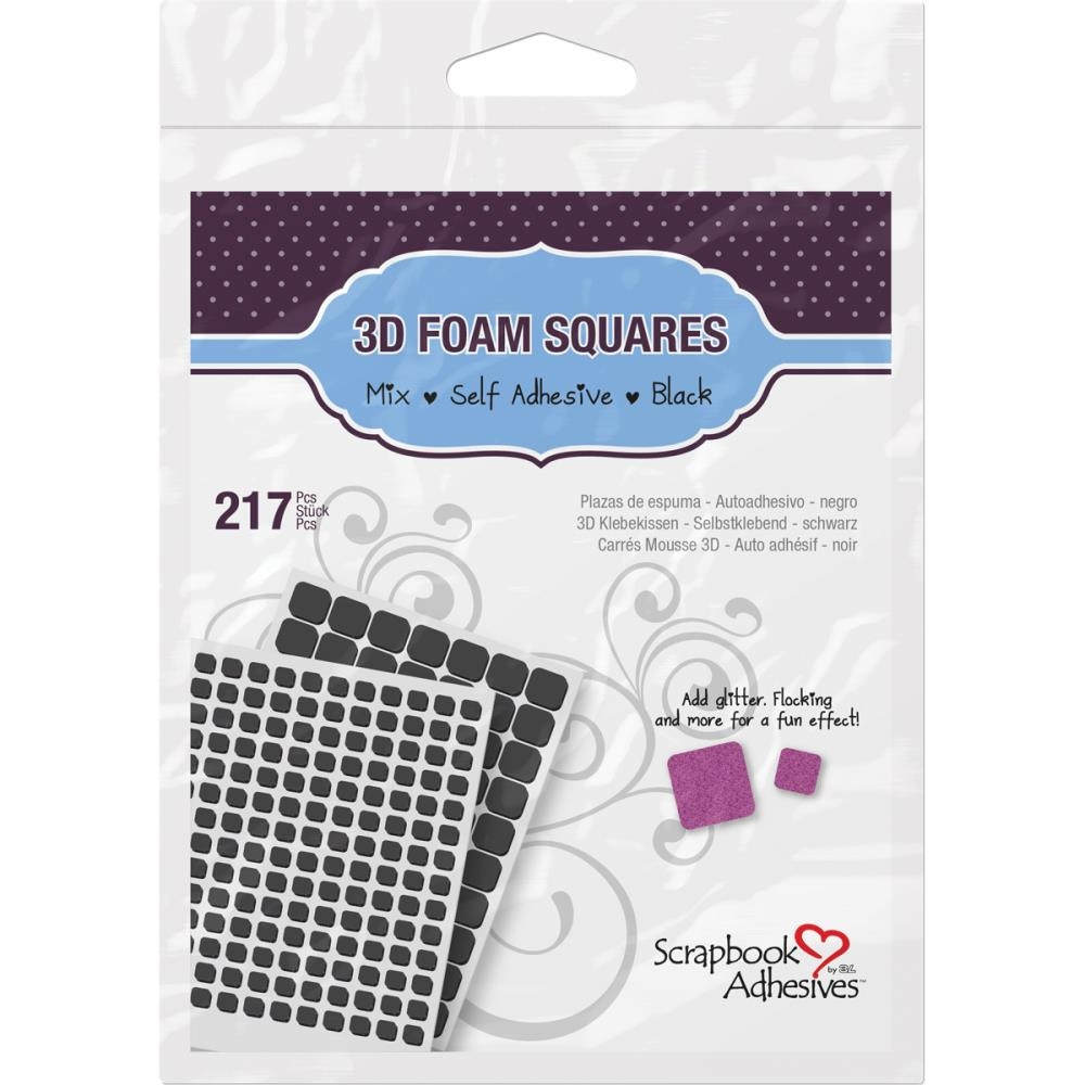 Scrapbook Adhesives 3D FOAM SQUARES Adhesive 01615 zoom image