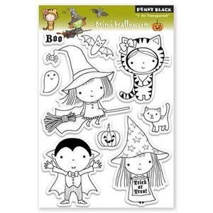 Penny Black Clear Stamps MIMI HALLOWEEN 30-077 zoom image