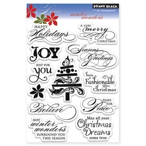 Penny Black Clear Stamps WINTER WONDERS 30-087*