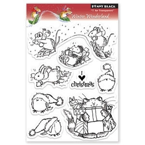 Penny Black Clear Stamps WINTER WONDERLAND 30-083 zoom image