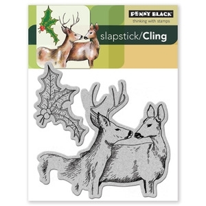 Penny Black Cling Stamps FOREST FRIENDS 40-077 Rubber Unmounted Preview Image