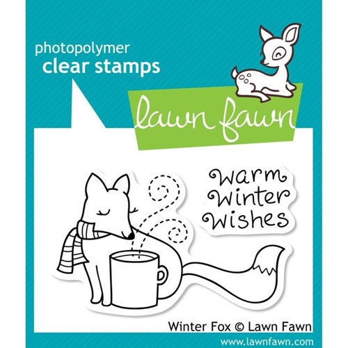 Lawn Fawn WINTER FOX Clear Stamps Preview Image