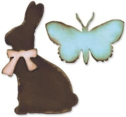 Tim Holtz Sizzix EASTER ELEMENTS Die Bigz 657485 Preview Image
