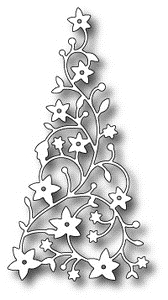 Memory Box FLOWERING CHRISTMAS TREE Craft Die 98195