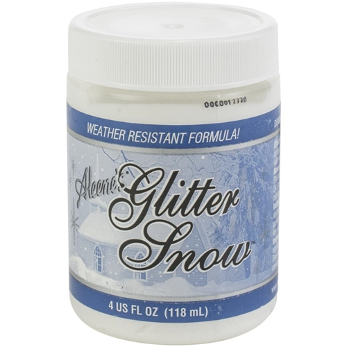 Aleene's GLITTER SNOW Paint Preview Image