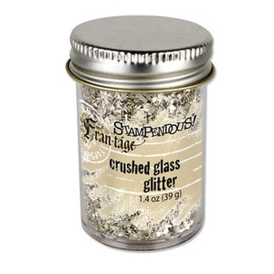 Stampendous SILVER Crushed Glass Glitter FRG01C zoom image