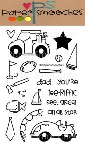 Paper Smooches MY GUY Clear Stamps Kim Hughes zoom image