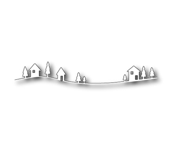 Memory Box COUNTRY LANDSCAPE Craft DIE 98239 zoom image