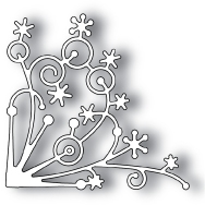 Memory Box SNOWFLAKE CORNER Craft DIE 98238 Preview Image