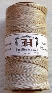 Hemptique NATURAL Hemp Cord Twine 029256