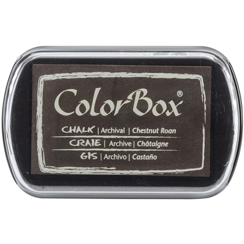 Clearsnap Colorbox CHESTNUT ROAN Brown Chalk Ink Pad 710036 Preview Image