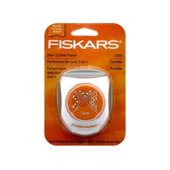 Fiskars LACE Punch 3 in 1 Corner 02331