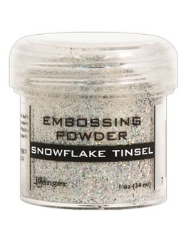 Ranger SNOWFLAKE TINSEL Embossing Powder EPJ37453 Preview Image