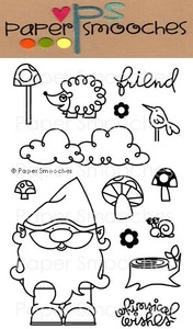 Paper Smooches FOREST WHIMSY Clear Stamps Kim Hughes Preview Image