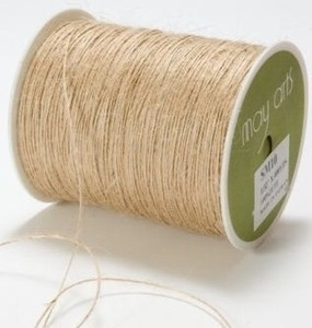 May Arts NATURAL Twine String Burlap zoom image