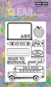 Hero Arts Clear Stamps GOOD WORK CL568