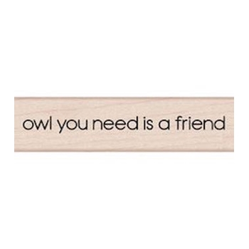 Hero Arts NEED A FRIEND Rubber Stamp C5575