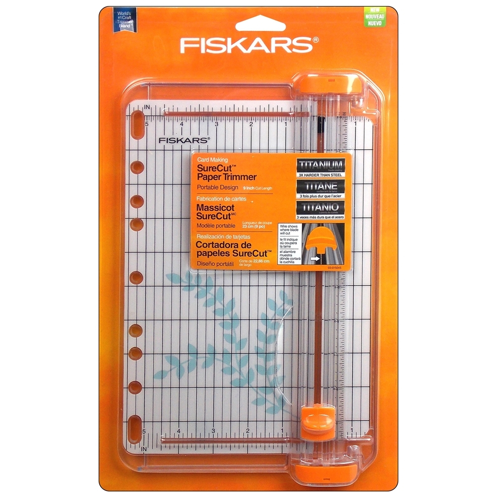 03559 Fiskars SURECUT CARD MAKING Paper Trimmer Cut Line 9 Inches zoom image