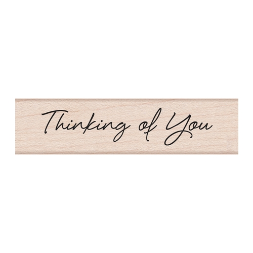 Hero Arts LITTLE GREETINGS THINKING OF YOU Rubber Stamp C5591 Preview Image
