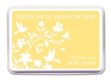 Hero Arts Shadow Ink Pad Butter Bar Mid-Tone