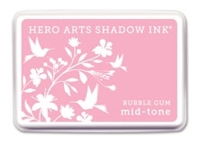 Hero Arts Shadow Ink Pad BUBBLE GUM Mid-Tone AF208 Preview Image