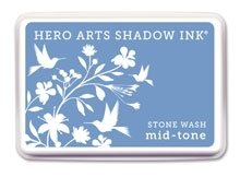 Hero Arts Shadow Ink Pad STONE WASH Mid-Tone AF211