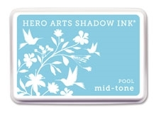 Hero Arts Shadow Ink Pad DEEP END POOL Mid-Tone AF212