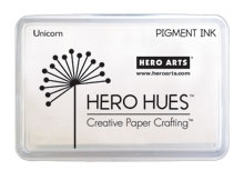 Hero Arts Pigment Ink Pad UNICORN White AF249 Preview Image