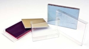 Clear Bags Crystal Clear Box Pack of 3