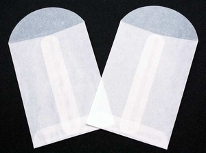 Clear Bags 2.75 x 3.75 GLASSINE ENVELOPES Pack of 10 CB23GL