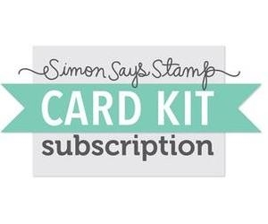 Simon Says Stamp Card Kit of the Month 2016 SUBSCRIPTION NOVEMBER START DATE