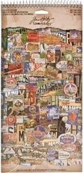 Tim Holtz Idea-ology Salvage Stickers DESTINATIONS TH93005*