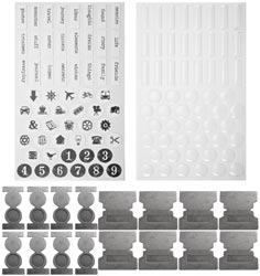 Tim Holtz Idea-ology FILE TABS TH93001*