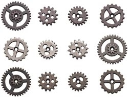 Tim Holtz Idea-ology MINI GEARS Sprockets TH93012