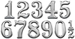Tim Holtz Idea-ology MINI NUMERALS TH93013