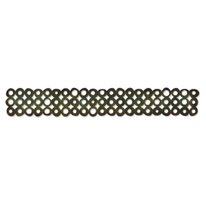 Tim Holtz Sizzix Die WASHER BORDER Decorative Strip Sizzlits 657826
