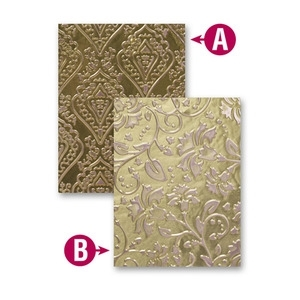 ES-005 Spellbinders ENCHANTED Embossing Folder*