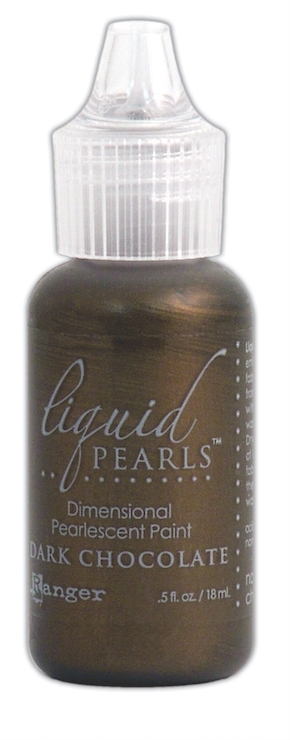 Ranger DARK CHOCOLATE Liquid Pearls Pearlescent Paint LPL28123 zoom image
