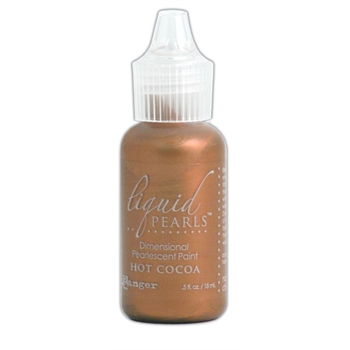 Ranger HOT COCOA Liquid Pearls Pearlescent Paint LPL28154