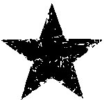 Tim Holtz Rubber Stamp STAR SILHOUETTE Stampers Anonymous D1-1788 zoom image