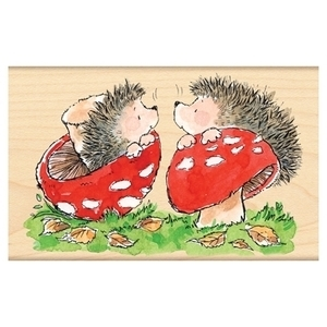 Penny Black Rubber Stamp HEDGY TRUFFLES 4255J