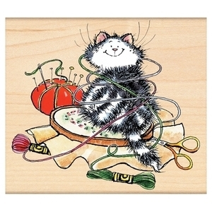 Penny Black Rubber Stamp EMBROIDERED 4250K