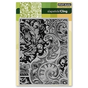 Penny Black Cling Stamp DAMASK PATTERN Rubber Unmounted 40-110